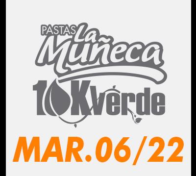 Pastas La Muñeca 10K verde 2021