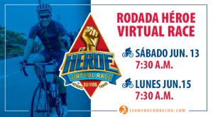 Rodada Héroe Virtual Race para celebrar el mes de la Bici.