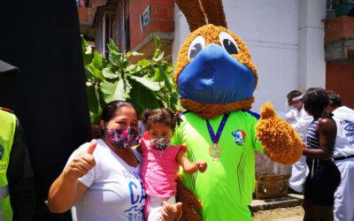 10.000 almuerzos fueron entregados con el Tour Juancho