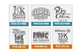 Aplazamiento Media Maratón de Cali modificación del Calendario de Carreras.