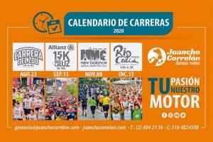 · Calendario 2020 de Juancho Correlón se modifica